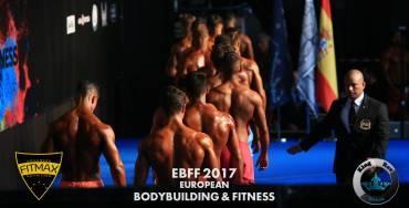 FITMAX en el Campeonato de Europa IFBB 2017